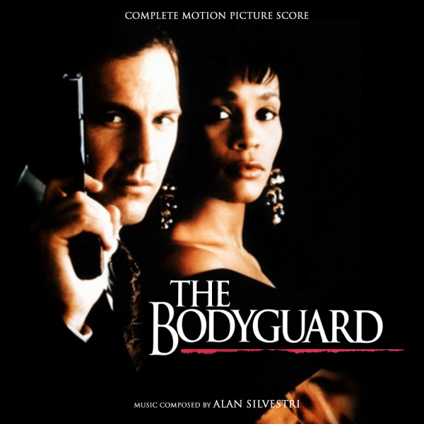 Whitney Houston and Kevin Costner in The Bodyguard
